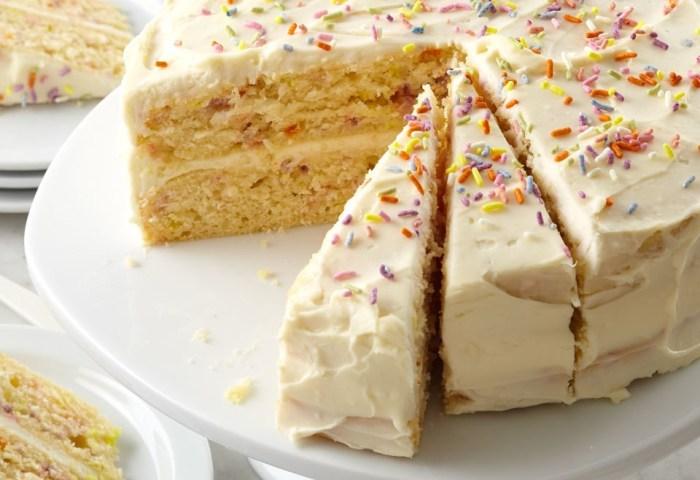 Confetti Birthday Cake Recipe Eatingwell