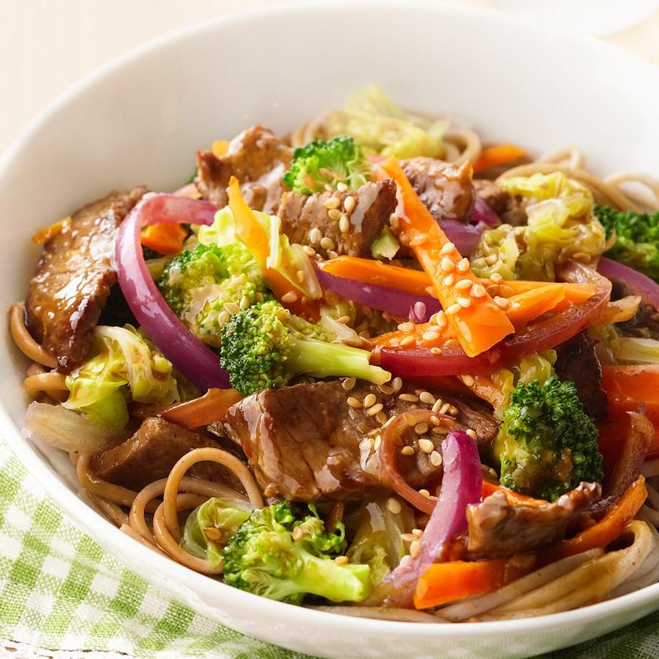Sweet Asian Beef Stir-Fry Recipe - EatingWell