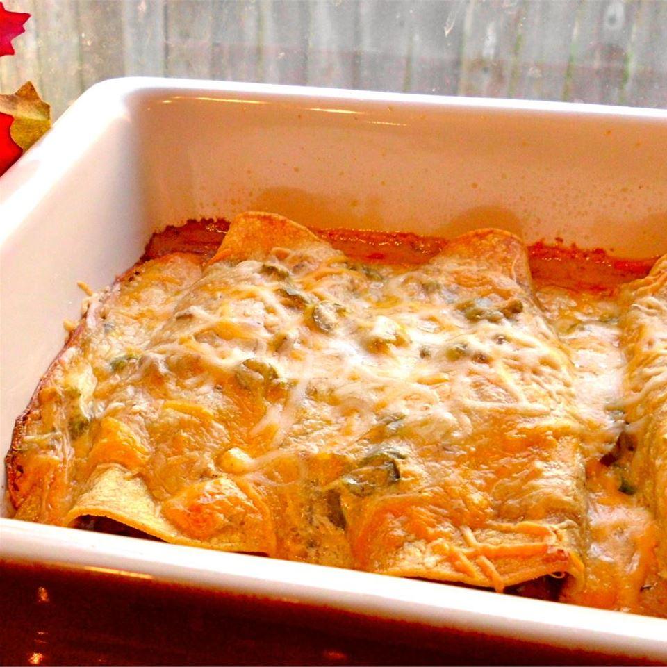 Receita de Enchiladas de Carne de Heather