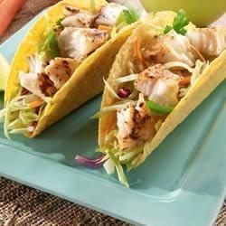 Receita de Tacos de Peixe de Pimenta de Limão