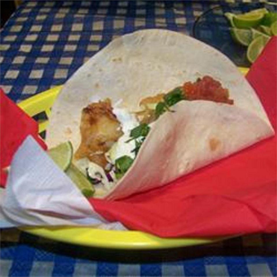 Receita de Tacos de Peixe de Fort Worth