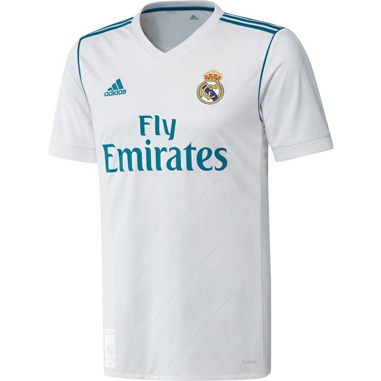 adidas Real Madrid Jersey Local 2017-2018 ...