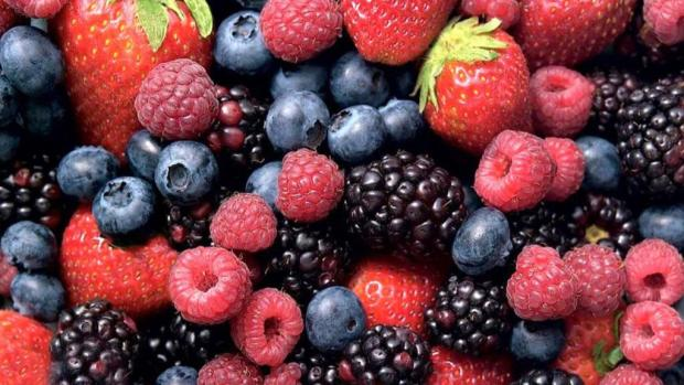 Healthy Eating on a Budget Fresh Berries Strawberries Blueberries Blackberries Raspberries
