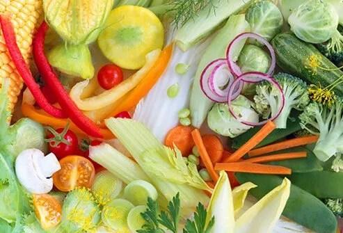 A Plethora of Vegtables.