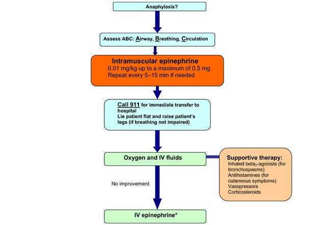 Overview of anaphylaxis management