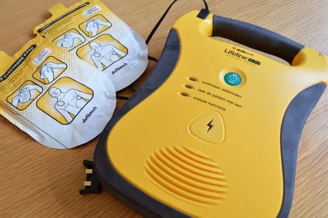 You don't need training to use an AED (automated external defibrillator).