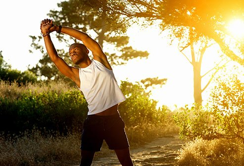 Exercise can help you sleep as long as you don't do it too late in the day.