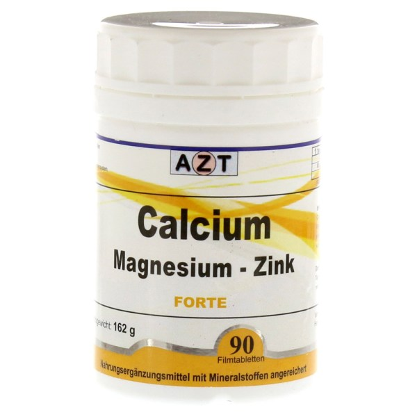 CALCIUM MAGNESIUM-Zink Forte Filmtabletten 90 Stück online ...