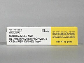 Clotrimazole Betamethasone Topical Drug Information On
