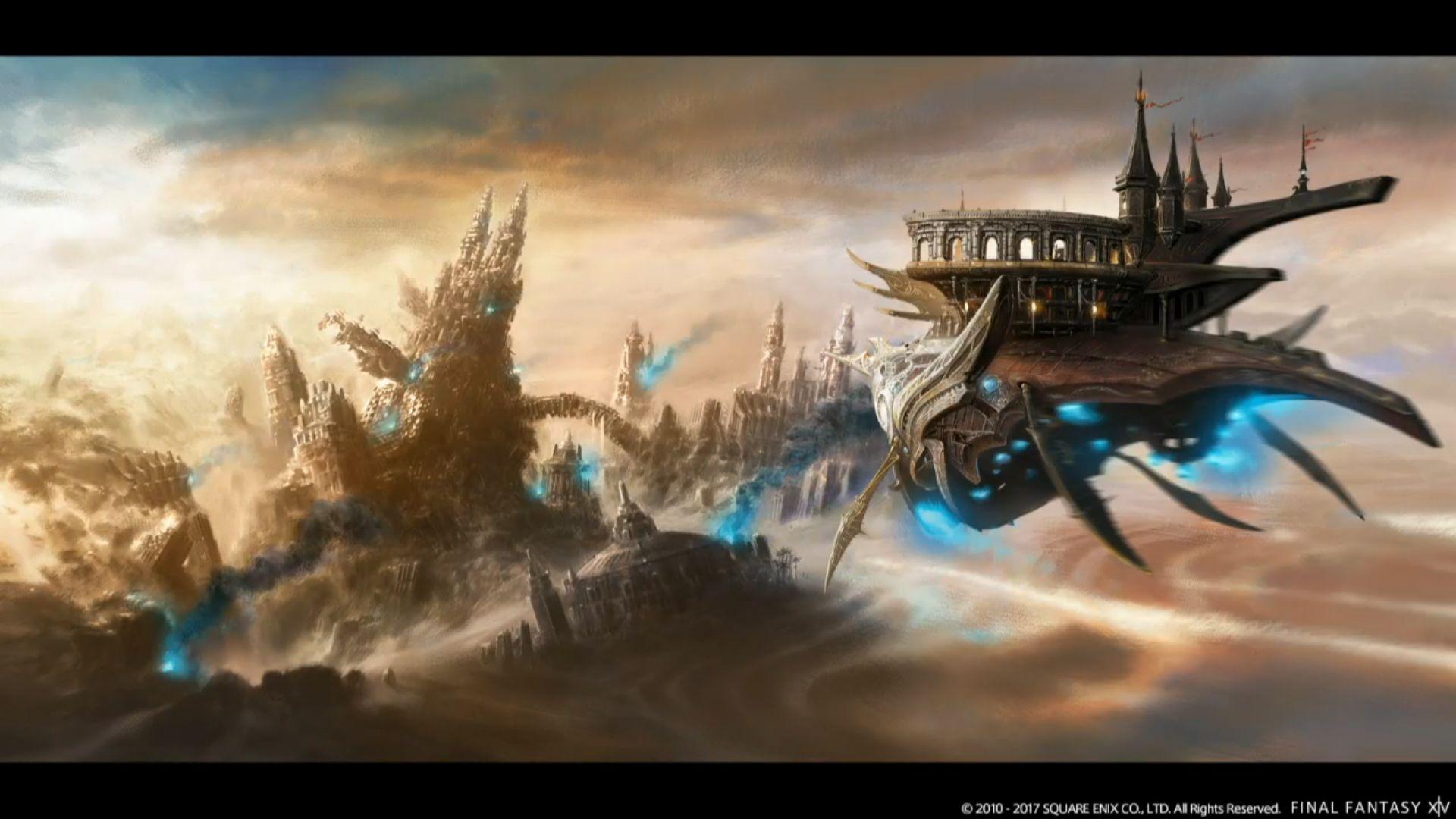 Final Fantasy XIV Erstes Stormblood Update 41 Kommt Im