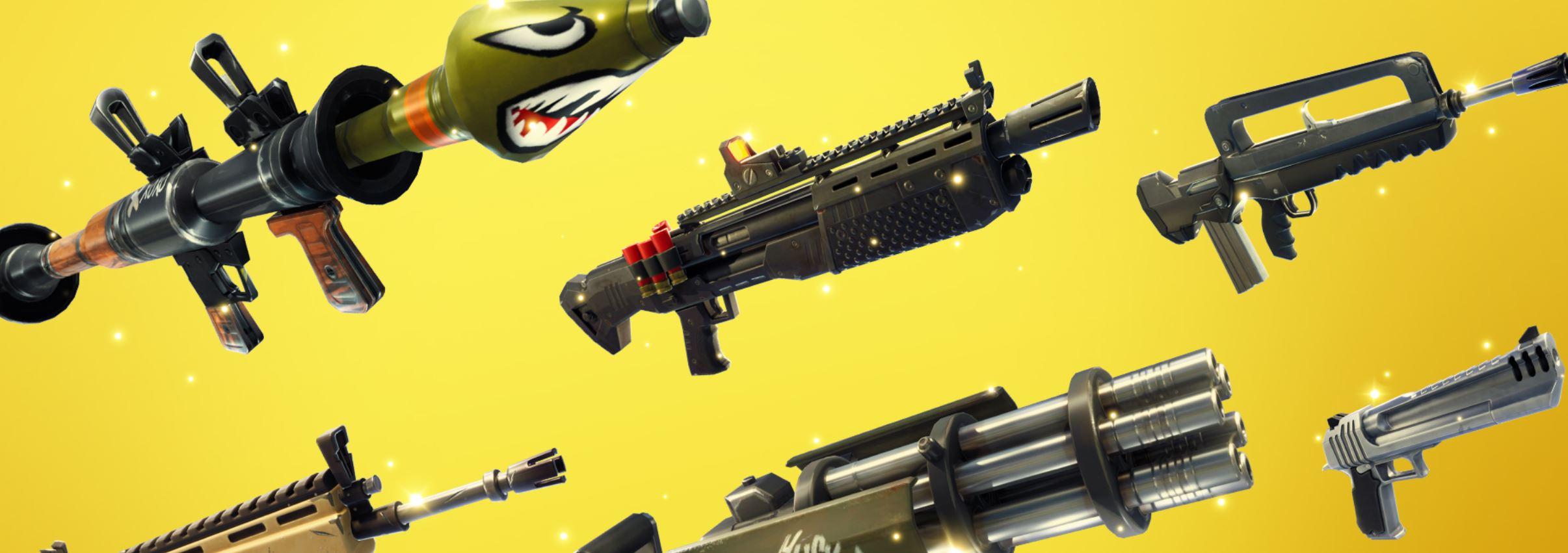 Fortnite Patch Notes 42 Neues Update Dreht Sich Um Waffen