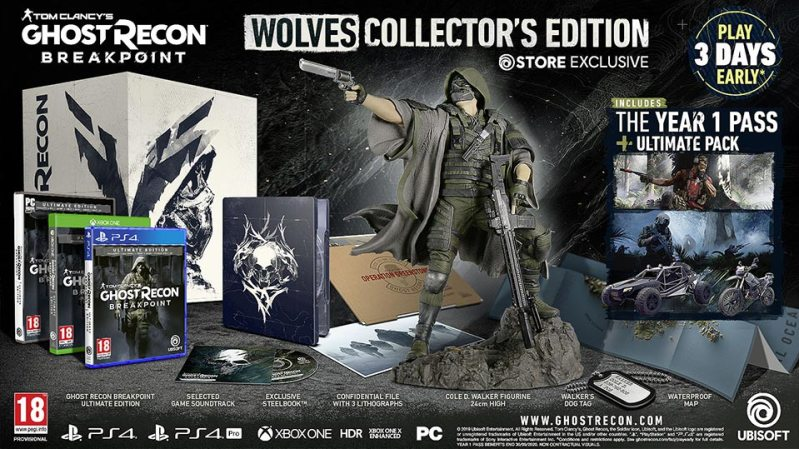 Ghost Recon Breakpoint Collectors Edition