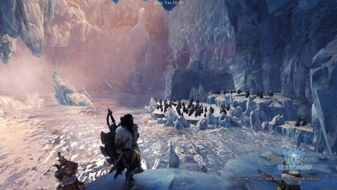 Monster Hunter Мир ледяных пингвинов