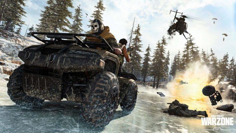 Call fo Duty Modern Warfare Warzone Quad