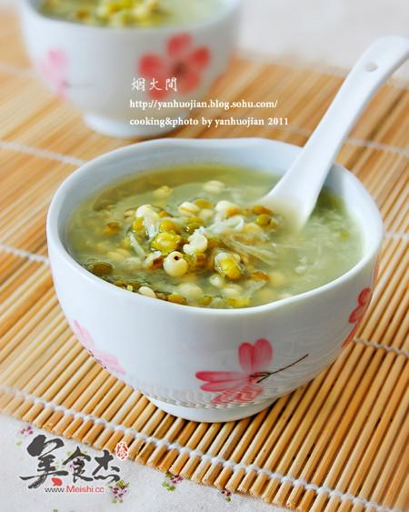 La soupe de pois verts