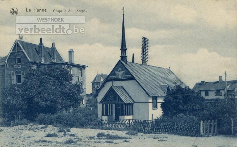 De Panne: De houten Sint-Jozefskapel was eerst een anglicaanse gebedsruimte