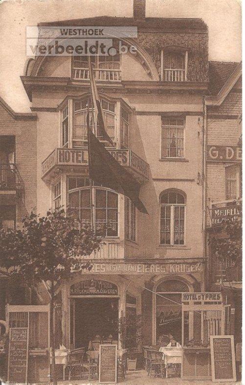 De Panne: hotel D'Ypres
