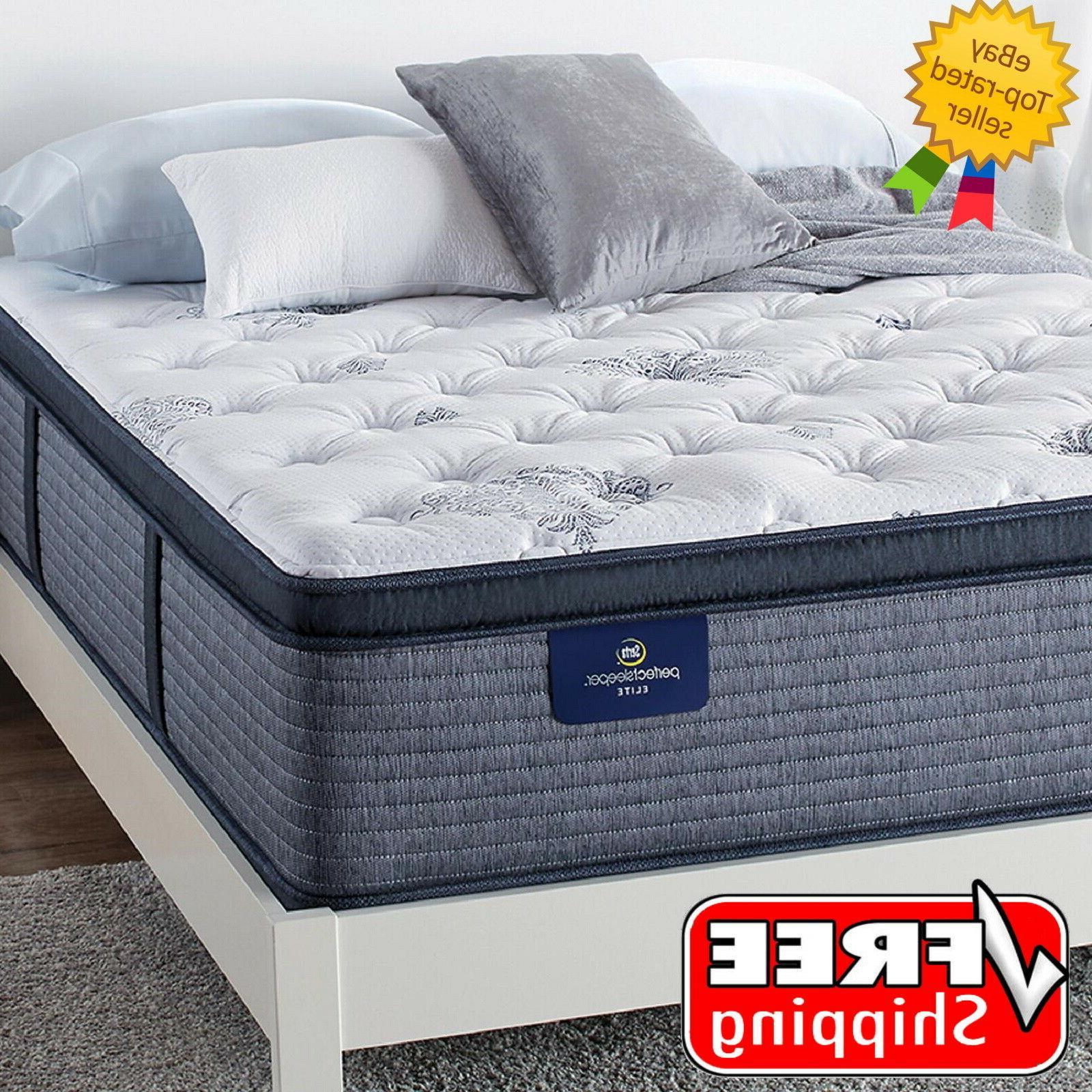 serta perfect sleeper glenmoor 2 0 pillowtop queen mattress free shipping
