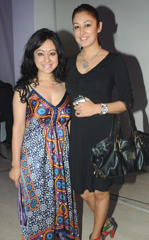 Madhuri and Anjali Pandey at Zumba Fitness Programme in India