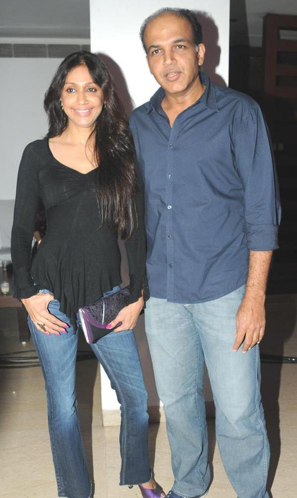 Sunita and Ashutosh Gowariker at The Launch Of Zumba Fitness Event