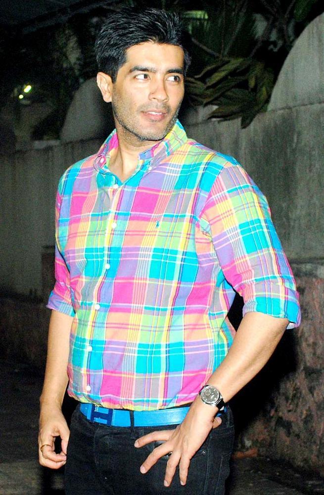 Manish Malhotra at Ketnav To Watch Teri Meri Kahaani