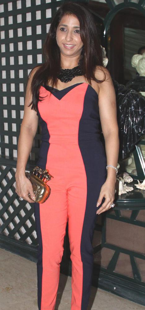 Krishika Lulla Spotted at Mika Singh Birthday Party