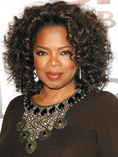 Curly Hair Beauty Oprah Winfrey Close Up Pic