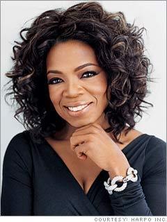 Oprah Winfrey Short Hair Cute Smile Pic