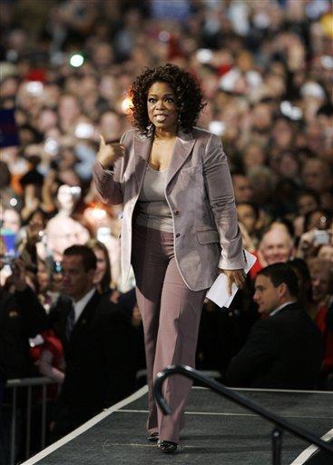 Philanthropist Oprah Winfrey Pic