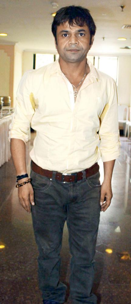 Rajpal Yadav Makes An Appearance at a Recent Event