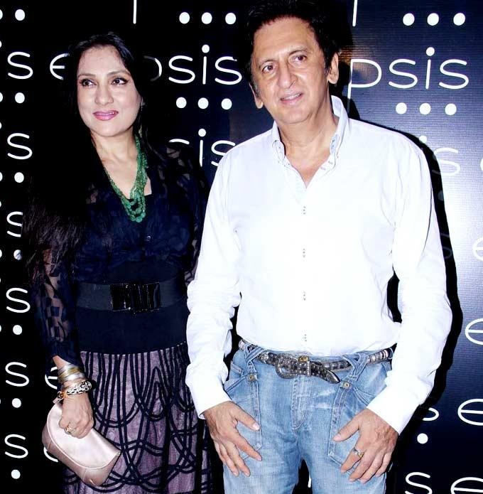 Aarti and Kailash Surendranath at Grand Opening Of Ellipsis Restaurant