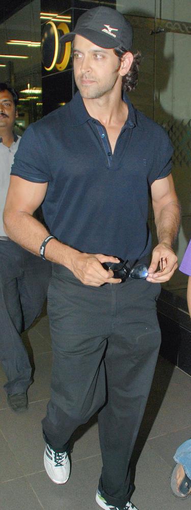 Lensmen Hrithik Roshan Spotted at Airport