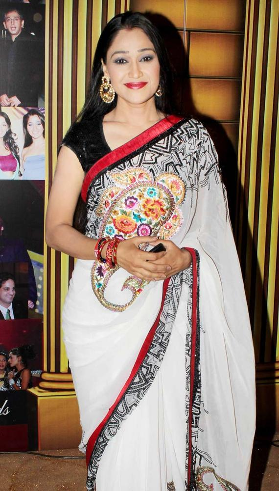 Disha In Saree At The 5th Boroplus Gold Awards