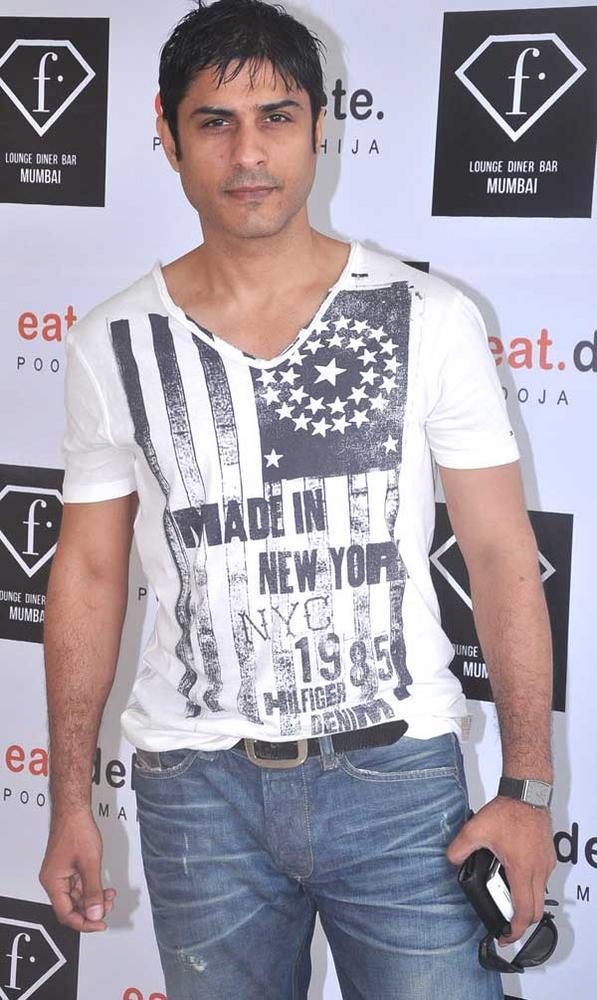 Vikas At F Lounge and Diner Bar For Launching Pooja Book Eat.Delete