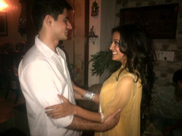 Raima Sen With Her Future Husband Varun Thapar