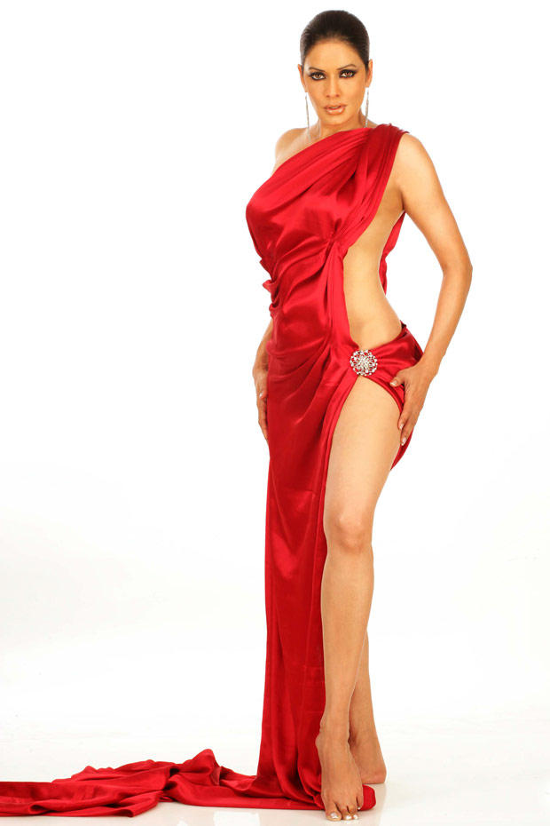Poonam Jhawar Latest Glamour Photo In Red Hot Dress