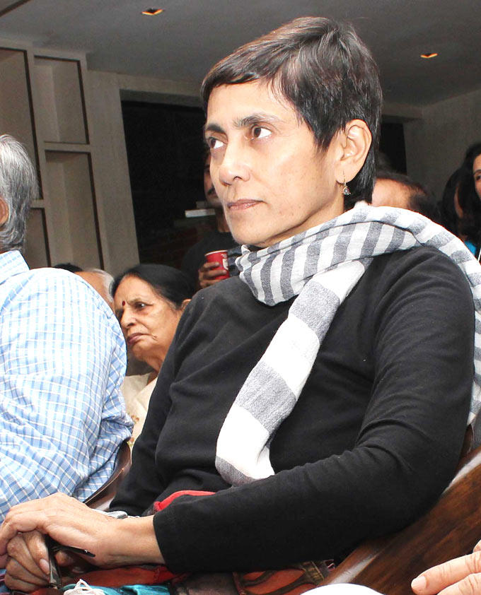 Deepa Sahi Attend The Book Launch Of Minty Tejpal's Book At Cafe Mangii