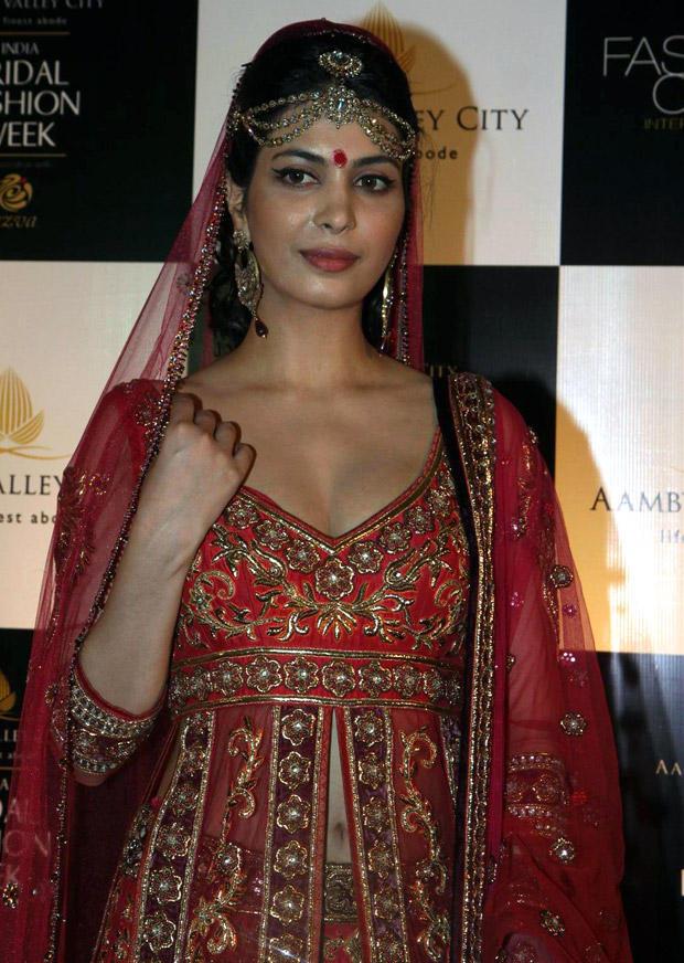 Ankita Shorey Backstage During Ambey Valley Bridal Fashion Week