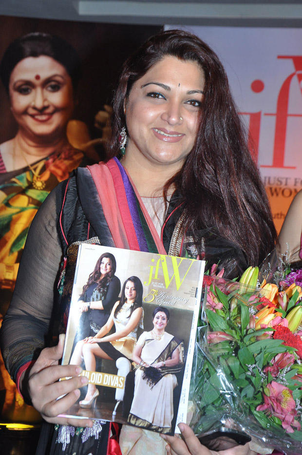 Kushboo Sundar Launches JFW Magazine