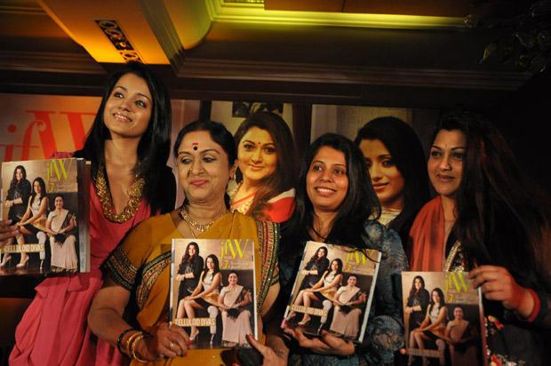 Trisha Launches JFW 5th Anniversary Magazine