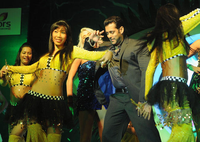 Salman Khan Performs at The Launch Of Bigg Boss Season 6