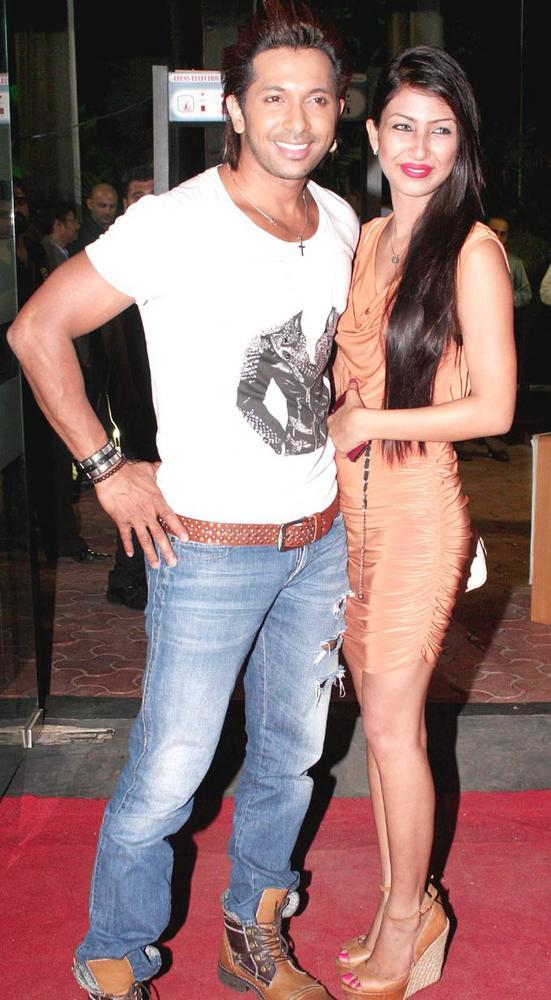 Terence Lewis With A Friend at AVIBFW 2012 Finale Show