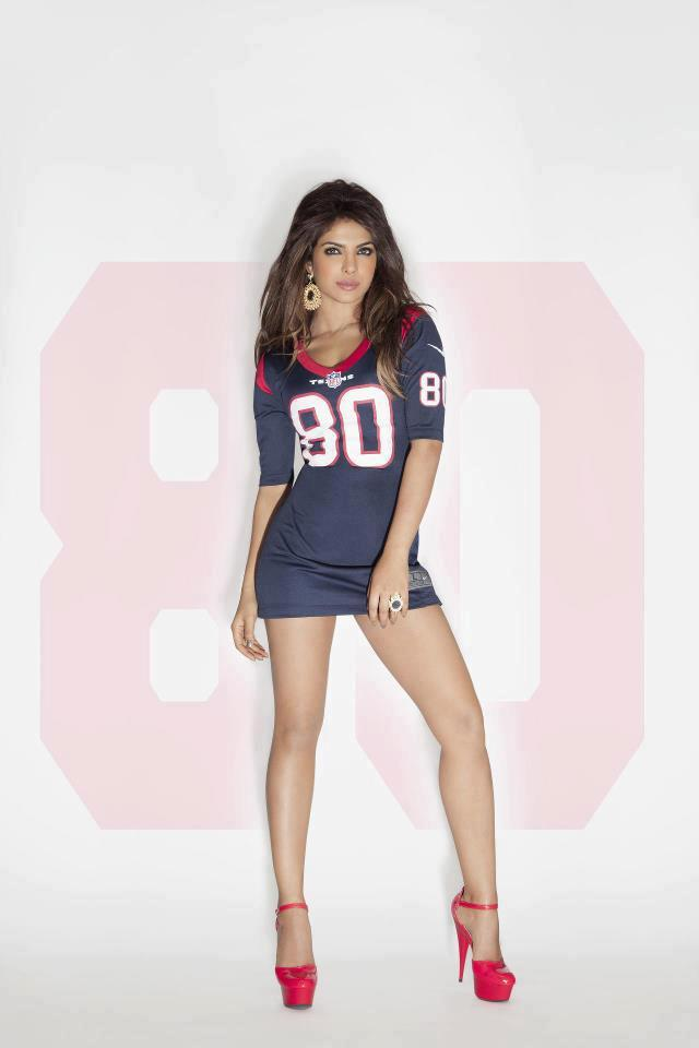 Priyanka Chopra NFL Photo Shoot