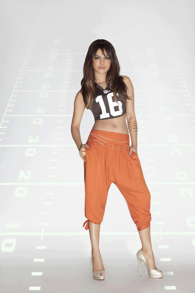 Priyanka Chopra Spicy Hot Pose Photo Shoot For NFL