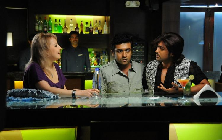 Surya A Still From His Upcoming Movie Brothers
