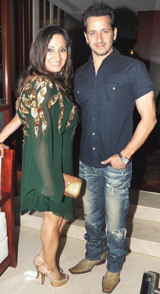 Biba With Rakesh At The Launch Of Her New Album Nachne De Chaa