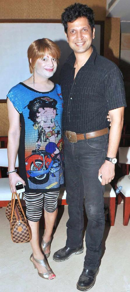 Bobby Vats With Bobby Darling At The Launch Of Biba Singhs Album