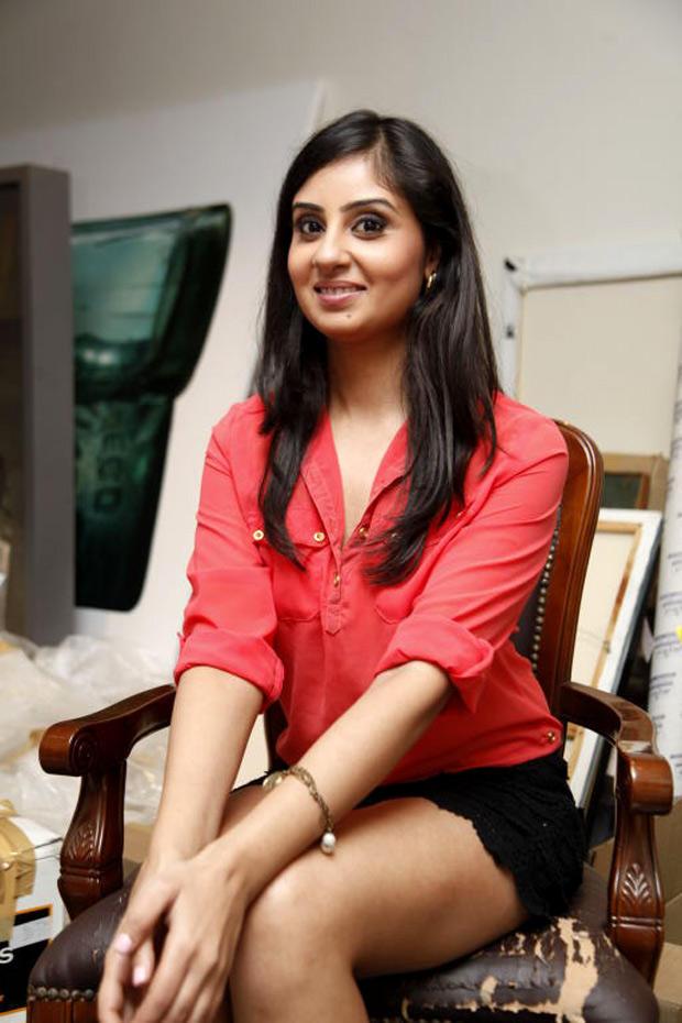 Bhanu Sri Mehra Cute Smile Face Look Still