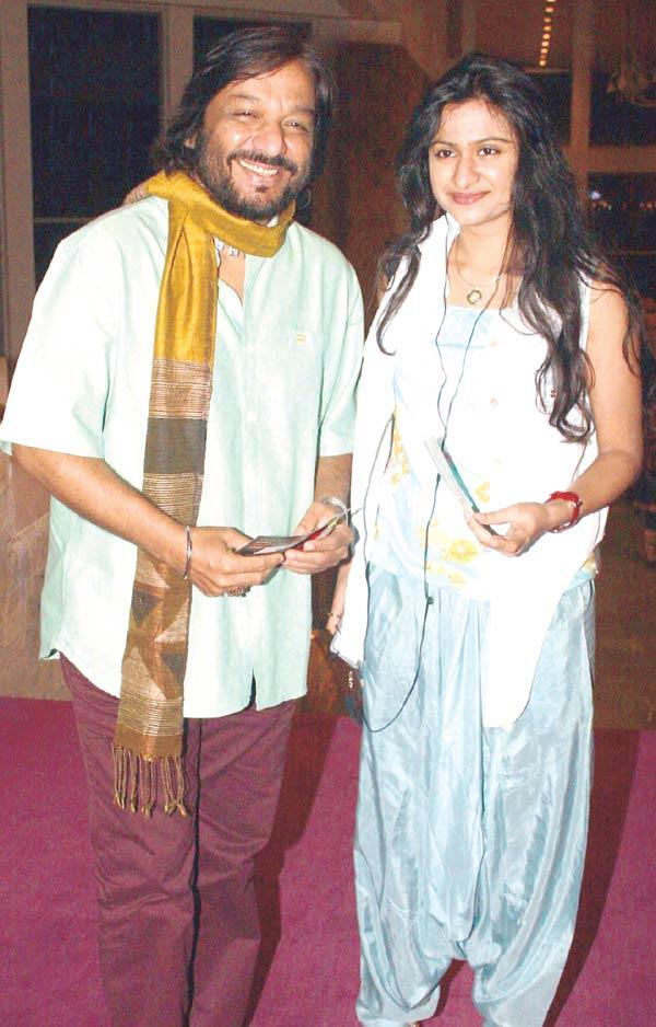 Roop Kumar Rathod And Reeva Come Together To Watch Play In Theatre