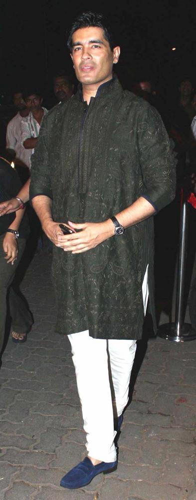 Manish Snapped At Saif And Kareena Sangeet Ceremony